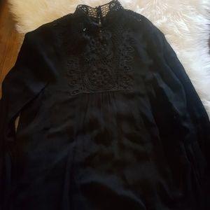 Zara woman black sleeves